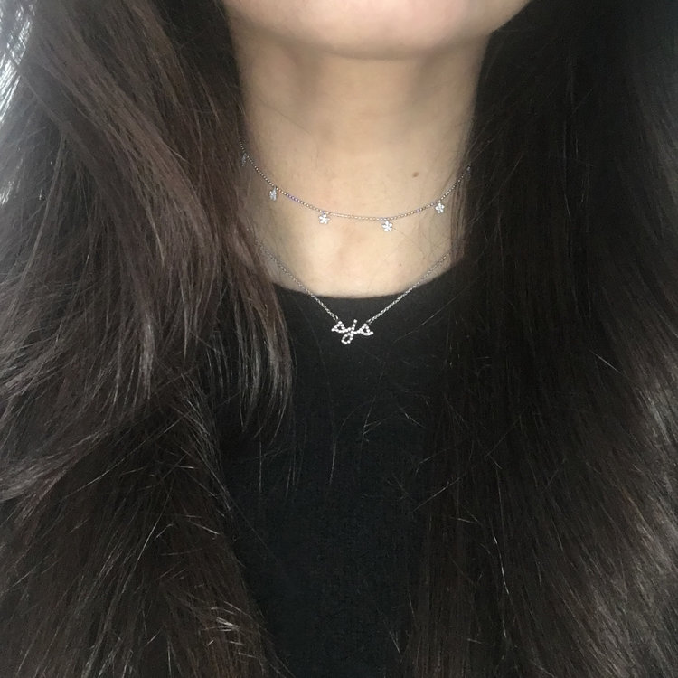 Script+Pave+Initial+Necklace